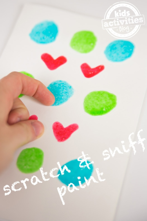 Homemade Scratch and Sniff Paint - Kids Activities Blog