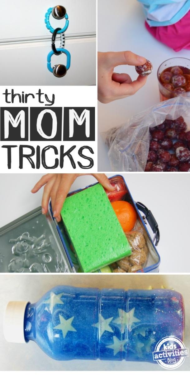 30 Genius Mom Tricks - Kids Activities Blog