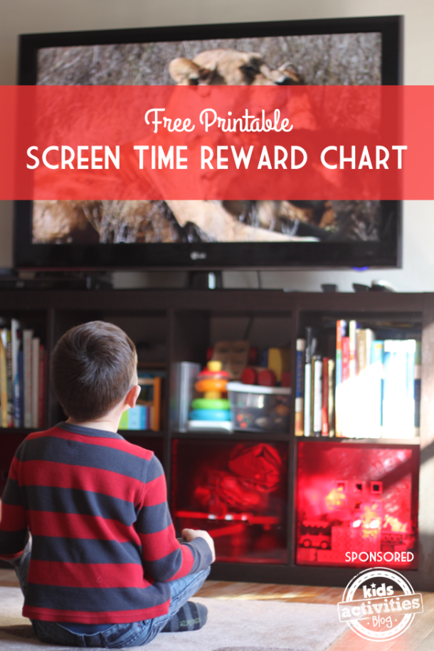 Free Printable Screen Time Reward Charts - Kids Activities Blog