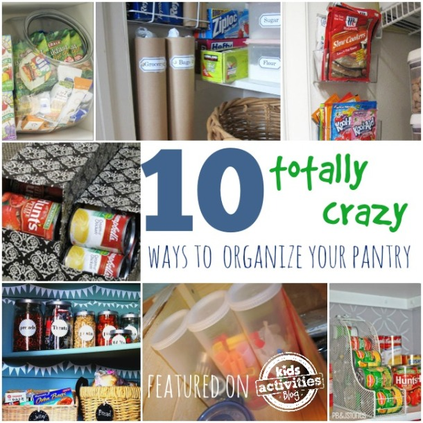 10 {Unconventional} Ways To Organize your Pantry - Kids Activities Blog